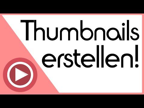 Sehr gute Thumbnails erstellen / machen mit Gimp für YouTube [Tutorial]
