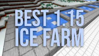 The Best Ice Farm to Build in Minecraft 1.15 (Simple & Tileable!)