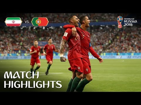 IR Iran V Portugal - 2018 FIFA World Cup Russia™ - Match 35