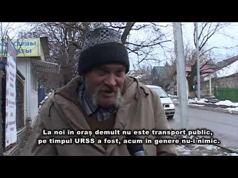 """Vox populi """"Ce spun locuitorii orașului Șoldănești despre absenţa transportului public în oraș?"""""""