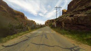 Driving time-lapse: Moab, UT - Birmingham, AL. 4K resolution.