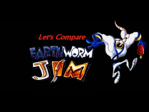 earthworm jim playstation 1