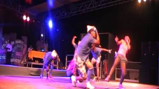 FIRST PASSAGE IMPOSED UNIK DANCERZ/K-SWAGG World Reggae Dance JA