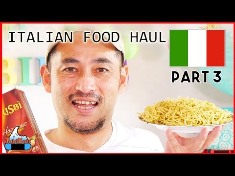 Japanese Try Italian Foods and Snacks (Part 3)
