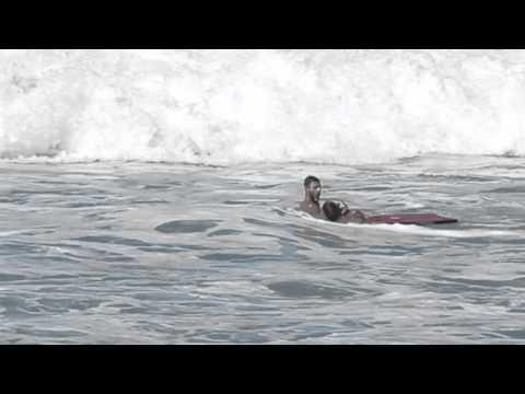 Rescate en el mar