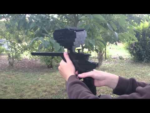 Pistolet-Paintball en LEGO présentation.