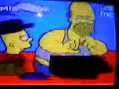 Homero Simpson perdido en altamar