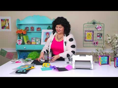 Make Handmade Cards for Dia de los Muertos with Sizzix and Crafty Chica