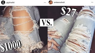 HI ANGELS!!!HERE IT IS, FINALLY LOL: HOW TO MAKE MY DIY RIPPED PEARL EMBELLISHED JEANS!!! Gigi Hadid wore these beauties on her instagram a few months ago, and I DIED!!! THE BEAUTY!!! THE AESTHETIC!!! THE EXTRA-NESS!!! lol so naturally, I made my own :P And this video will show you how.I LOVE YOU!!! SO SO SOOOO MUCH! Stay sparkly sweet angels.XxAmberInsta/Twitter/Snap: @AmberScholl