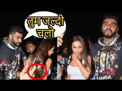 Arjun Kapoor And Malaika Arora Spotted Together At Yauatc
