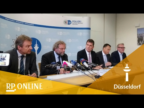 Pressekonferenz zum Haftbefehl nach dem Wehrhahn-An ...