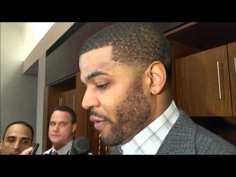 Josh Smith after Rockets Game 1 win over Mavs
