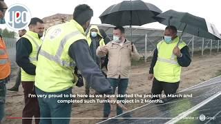 YEO Solar, Ukrayna'da 16MW Ihnatpil GES Projesini 2 Ayda Tamamladı