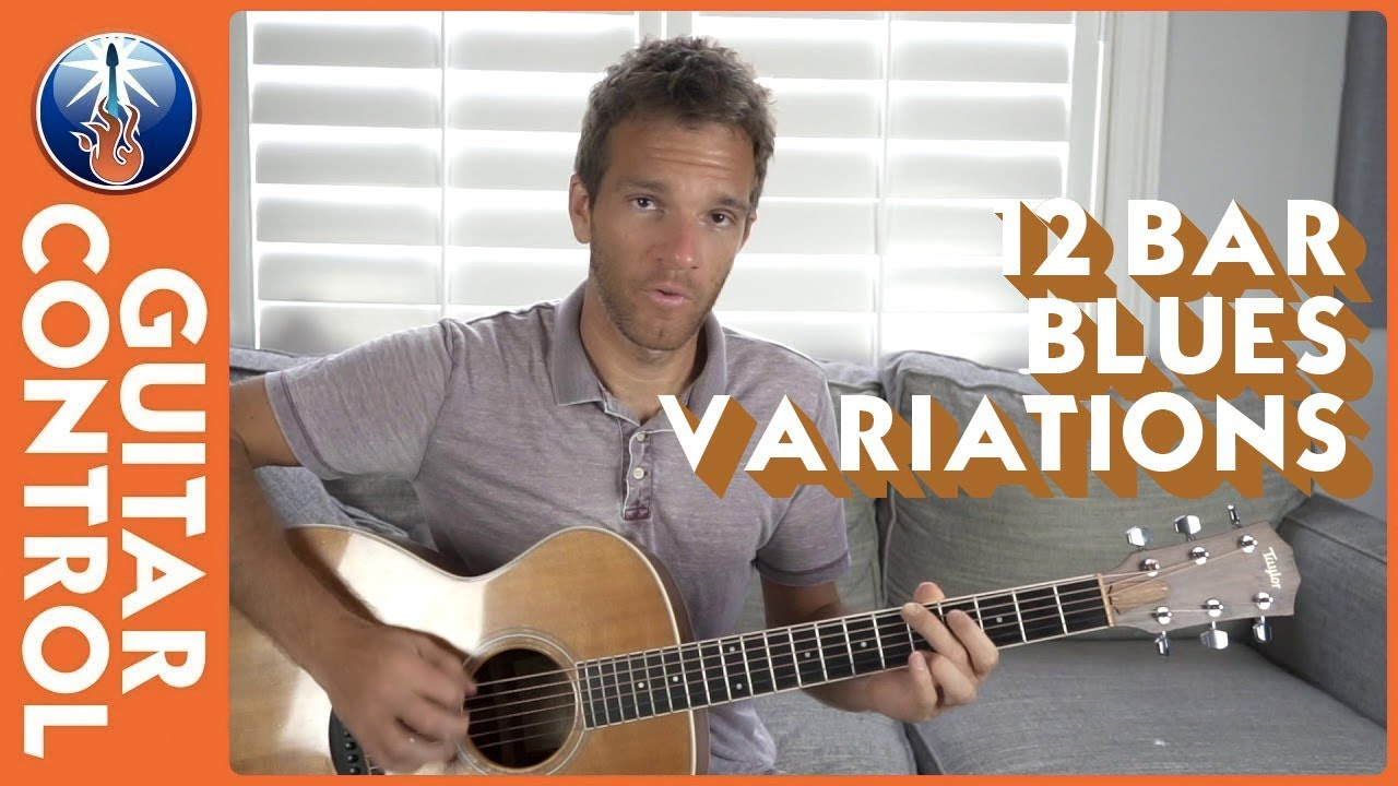 Acoustic Blues Guitar Lesson – 12 Bar Blues Variations