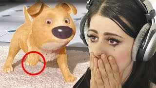 Reacting to the SADDEST animations (TRY NOT TO CRY CHALLENGE)