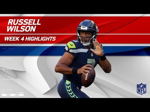 Video: Russell Wilson's 3 TD Night vs. Indianapolis | Colts vs. Seahawks | Wk 4 Player Highlights