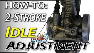 9. 2-Stroke Carb Tuning - Idle Adjustment | Fix Your Dirt Bike.com