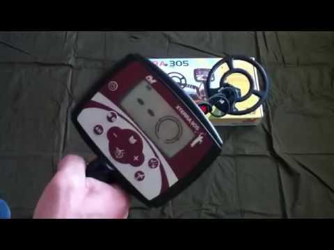 Видео Грунтовый металлоискатель Minelab X-Terra 305