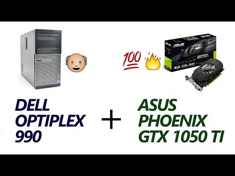 Dell Optiplex 990 Office PC to Capable Gaming PC Upgrade + Benchmarks