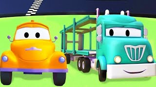 Tom la Grúa y el Porta Autos en Auto City | Dibujos animados para niños full download video download mp3 download music download