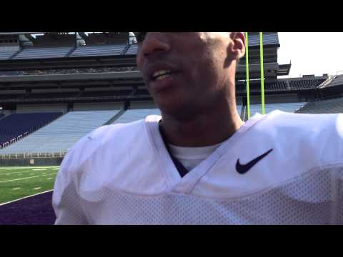 Marcus Peters Interview 8/9/2013 video.
