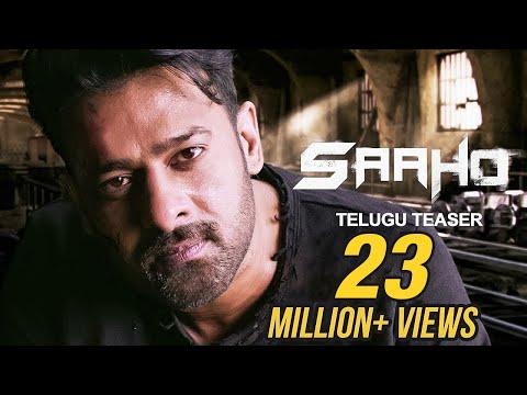 Saaho - Official Telugu Teaser   Prabhas, Sujeeth   UV Creations