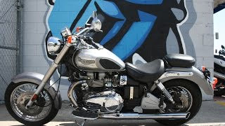 7. 2006 Triumph Bonneville America...Great Retro Cruiser