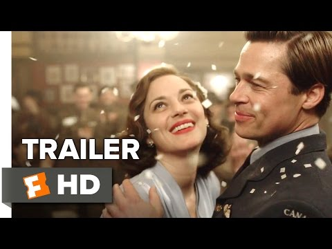 , title : 'Allied Official Trailer 1 (2016) - Brad Pitt Movie'