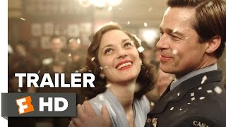 Nonton Allied Official Trailer 1 (2016) - Brad Pitt Movie Film Subtitle Indonesia Streaming Movie Download