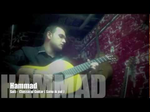 Sanu ik pal chain – Fingerstyle Guitar Solo – Hammad