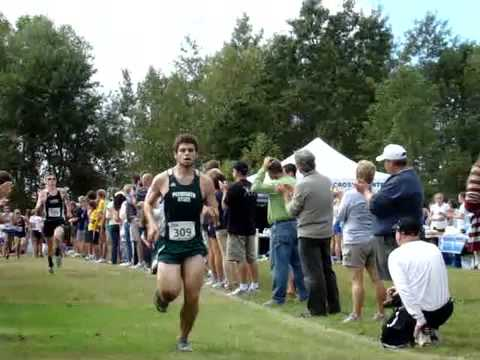 Univ. of New England Invitational -- First varsity race for Plymouth State Cross Country