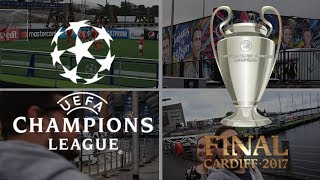 SO THE UEFA CHAMPIONS LEAGUE FINAL IS COMING TO CARDIFF!! ME AND HANNAH TRAVEL DOWN TO CARDIFF BAY TO CHECK OUT THE UEFA CHAMPIONS LEAGUE FESTIVAL, WITH ITS STAGES AND FLOATING PITCH!----------------------------------------­­­­­­­­­­­------------------------------­-­-­-­-­-­-­-­-Subscribe for Daily Vlogs ► http://bit.ly/2gmzp0h● Yesterdays Vlog: https://goo.gl/ddjfxy● Mystery Video: https://goo.gl/IbGvmA● Music ♫ • Floppy Circus - All The Happy Days & Handbook - The Things We Do----------------------------------------­­­­­­­­­­­------------------------------­-­-­-­-­-­-­-­-► James:Twitter • http://twitter.com/JamesAshh Gaming Channel • http://bit.ly/2hrhO5u SnapChat • jamesashyoutubePersonal Twitter • http://twitter.com/jaamesash Instagram • http://instagram.com/jaamesash ----------------------------------------­­­­­­­­­­­------------------------------­-­-­-­-­-­-­-­-► Business Contact • james.vlogs93@gmail.com ► MY EQUIPMENT:Sony A5000 (Main Camera) • http://amzn.to/2jmUtos iPhone 7 Plus (Timelapses) • http://amzn.to/2jSWJ8f Main Camera Night Light • http://amzn.to/2izfU4YMacBook Pro (Late 2016) • http://amzn.to/2jdrxNz Lacie Hard Drive • http://amzn.to/2jdBZET  ----------------------------------------­­­­­­­­­­­------------------------------­-­-­-­-­-­-­-­-► Hannah:Blog • http://www.hannahmayblogs.com Blog Twitter • http://twitter.com/heyhannahmay7Personal Twitter • http://twitter.com/TrueeColourss Instagram • http://instagram.com/hanmurray96 SnapChat • hannahmurray96----------------------------------------­­­­­­­­­­­------------------------------­-­-­-­-­-­-­-­-► Chloe:Twitter • http://twitter.com/ChloeAsh3 Instagram • http://instagram.com/chloeashxSnapChat • chloeash----------------------------------------­­­­­­­­­­­------------------------------­-­-­-­-­-­-­-­-