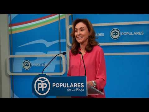 Martín se refiere al proceso de renovación de la Junta Local del PP de Logroño