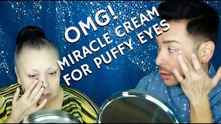 In this review, I am showing you the most amazing Miracle Cream for Puffy Eyes & Wrinkles that shrinks and diminishes on contact within minutes! Excellent fo...