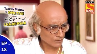 "Click here to Subscribe to SAB TV Channel : https://www.youtube.com/user/sabtv?sub_confirmation=1Click to watch all the episodes of Taarak Mehta Ka Ooltah Chashmah https://www.youtube.com/playlist?list=PL6Rtnh6YJK7Zfu1x9Bd1UqLwUxhZ1oBJhThe show is inspired from the famous humorous column 'Duniya Ne Undha Chasma' written by the eminent Gujarati writer Mr. Tarak Mehta. This story evolves around happenings in """"""""Gokuldham Co-operative Society"""""""" and covers topical issues which are socially relevant.The show predominantly - Promoolves around 'Jethalaal' (Dilip Joshi) who is an uneducated Gujarati businessman. Your 'Taarak Mehta' (Sailesh Lodha), is his neighbour. 'Jethalaal' finds a friend and philosopher in 'Taarak Mehta' and often goes to him for advice whenever he is in trouble. Jethalaal's family includes his simpleton wife 'Daya Ben' (Disha Wakani) and a mischievous son 'Tapu' (Bhavya Gandhi). Tapu is a menace and a constant source of trouble to all the members of Gokuldham. They have often warned 'Jethalaal' to reform 'Tapu' or else be prepared to leave the premises. Lost hopes of being heard by his son pushes Jethalaal' to call his father 'Champaklal' (Amit Bhatt) from the village. This was his great idea of leashing some control over the mischievous Tapu. The opposite happens and the grandfather joins hands with the grandson to make life a roller coaster troublesome ride for Jethalaal.Dear Subscriber, If you are trying to view this video from a location outside India, do note this video will be made available in your territory 48 hours after its upload time.More Useful Links : * Visit us at : http://www.sonyliv.com * Like us on Facebook : http://www.facebook.com/SonyLIV * Follow us on Twitter : http://www.twitter.com/SonyLIVAlso get Sony LIV app on your mobile * Google Play - https://play.google.com/store/apps/details?id=com.msmpl.livsportsphone * ITunes - https://itunes.apple.com/us/app/liv-sports/id879341352?ls=1&mt=8"