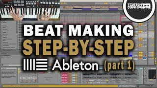 Download Lagu Making a Beat from Scratch in Ableton Live 9 (Step-by-Step) PART 1: Piano & Keys Mp3