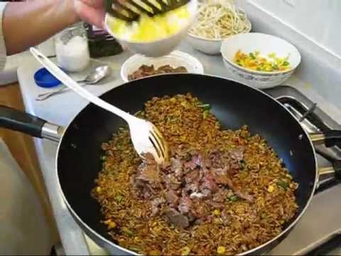 Cook Authentic Chinese Style – Beef Fried Rice