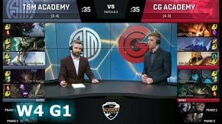 Video TSM Academy vs Clutch Gaming Academy   Week 4 of S8 NA Academy League Spring 2018   TSMA vs CGA MP3, 3GP, MP4, WEBM, AVI, FLV Agustus 2018