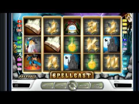 Игровой слот Spellcast - подробный обзор от клуба IgrovoyZal.com