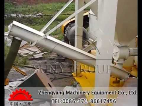 PCB/circuit board recycling equipment video.