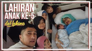 Video LAHIRAN ANAK KE-5 deHakims MP3, 3GP, MP4, WEBM, AVI, FLV Juni 2019