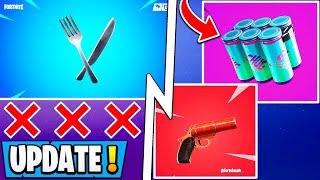 *NEW* Fortnite 9.30 Update!   Chug Splash Shield, Flare Gun Item, Tilted vs Monster!