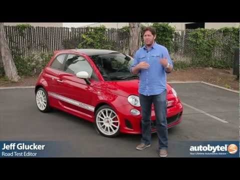 2012 Fiat 500 Abarth: Video Road Test & Review