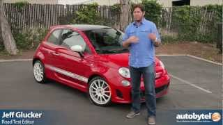 2012 Fiat 500 Abarth Test Drive&Sub-Compact Car Video Review