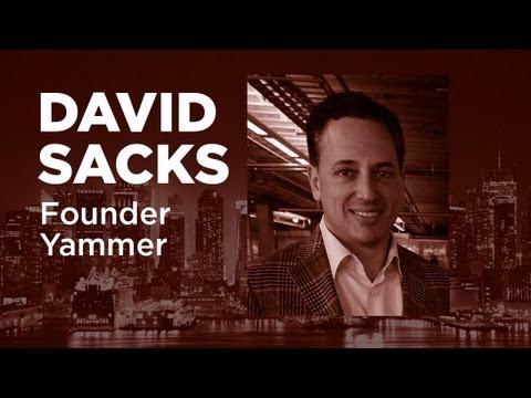 , title : '- Startups - David Sacks Founder of Yammer - TWiST#354'