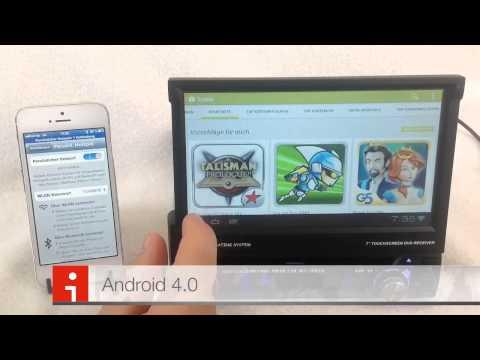 1 DIN Android 4.0 Autoradio mit Car Pc/DVD/WIFI/INTERNET/BLUETOOTH/NAVI/DVB-T