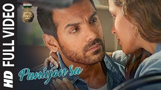 Video PANIYON SA Full Song | Satyameva Jayate  | John Abraham | Aisha Sharma | Tulsi Kumar | Atif Aslam MP3, 3GP, MP4, WEBM, AVI, FLV November 2018