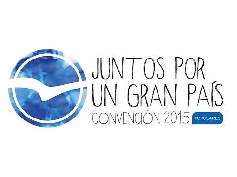 un - Vídeo emitido en la clausura de la Convención Nacional Madrid 2015.