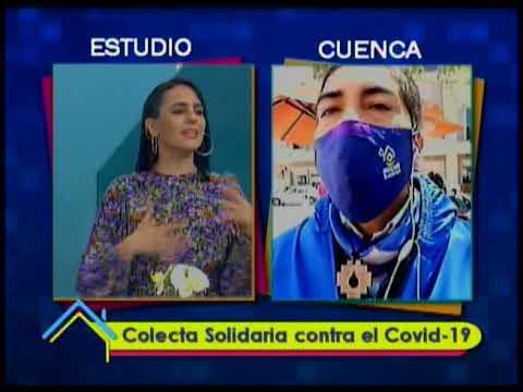 Colecta solidaria contra el covid-19