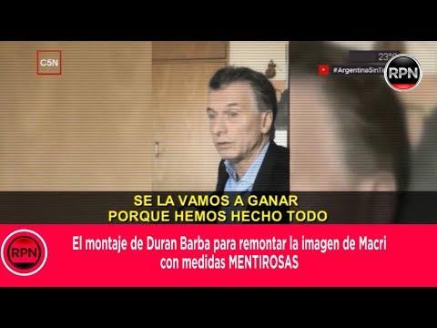 El montaje de Duran Barba para remontar la imagen de Macri con medidas MENTIROSAS